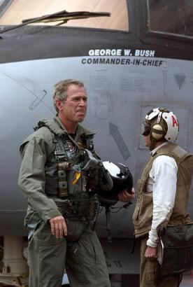 Dubya in the flight suit