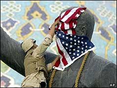 Toppling Saddam - (AP)