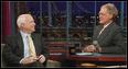 McCain on Letterman