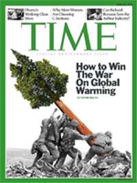 Time's Iwo Jima global warming cover