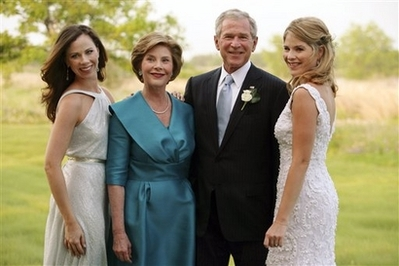 Bush family photo