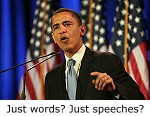 Just words? Just speeches?