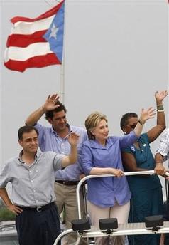 Hillary in Puerto Rico