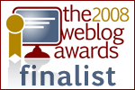 2008 Weblog Awards Finalist