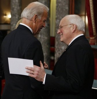 Biden and Cheney