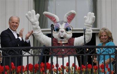 Biden Easter bunny