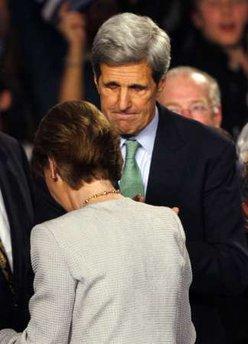John Kerry and Martha Coakley