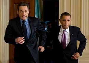 Obama and Sarko