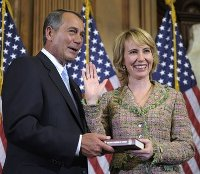 Boehner and Giffords