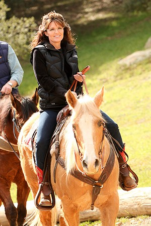 Palin at Reagan Ranch