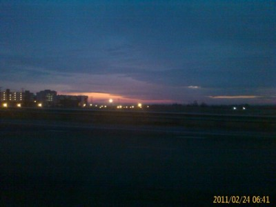 Sunrise - Charlotte Motor Speedway - 2/24/11