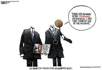 Cartoon courtesy of Michael Ramirez.