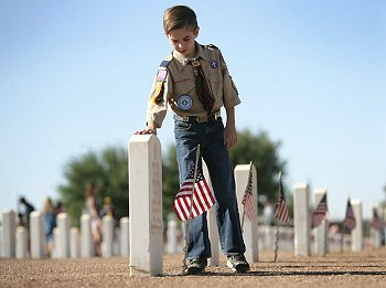 Boy Scout - Memorial Day