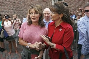 Palin and impersonator