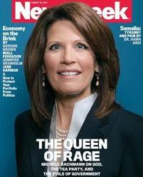 Michele Bachmann on the cover of Newsweek