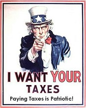 Taxes are patriotic