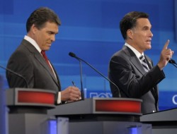 Perry and Romney - Sept 2011