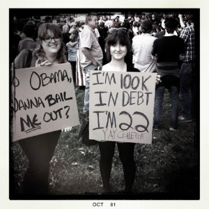 Photo from Occupy Charlotte - 10/8/11