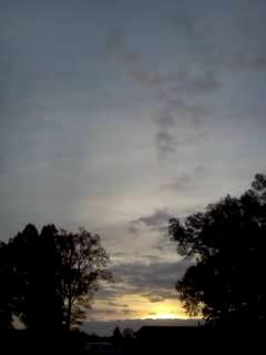 Concord, NC sunrise