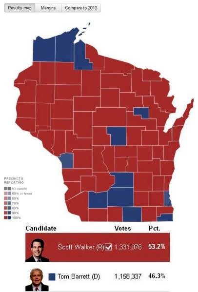 WI recall election results