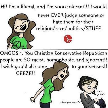 Liberal tolerance