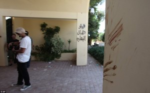 American blood, US Consulate, Benghazi