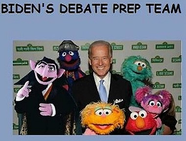 Joe Biden's debate prep team?