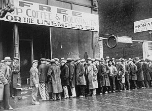 Depression-era unemployment
