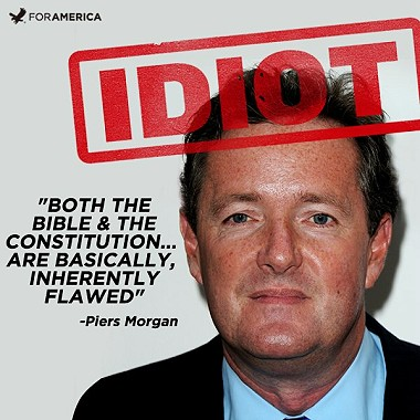 Deport Piers Morgan!