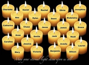 Newton, CT shooting victims.