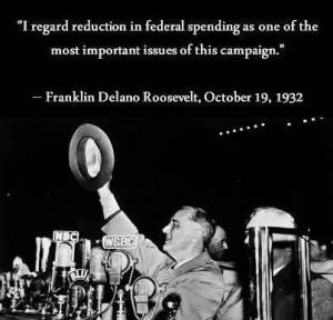 FDR deficit history Obama