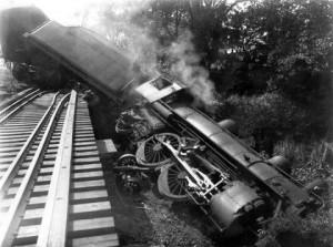 """Train wreck"""