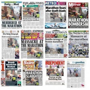 UK papers - front pages