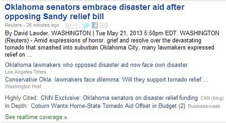 Google News headlines