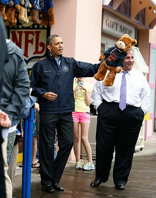 Pres. Obama and Gov. Christie