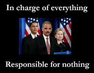 Obama, Holder, Clinton