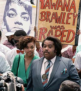 Tawana Brawley and Al Sharpton
