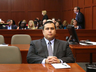 George Zimmerman at trial