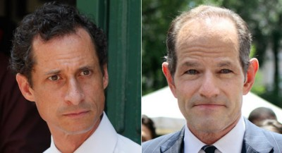 Anthony Weiner and Eliot Spitzer