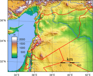 Syria_Topography