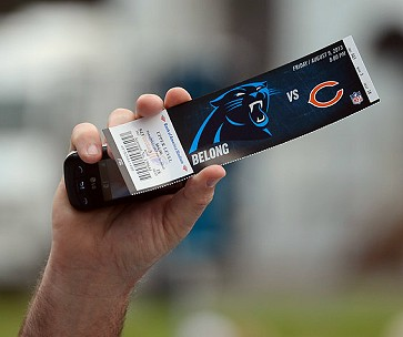 Game day ticket