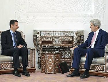 Bashar Al-Assad & John Kerry