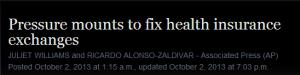 AP Obamacare headline original