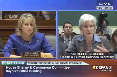 Ellmers and Sebelius