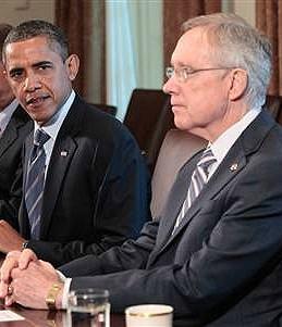 President Obama and Senator Reid