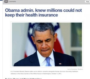Obamacare - they knew