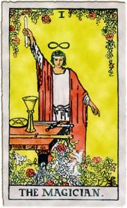 tarot magician card fraud trickster