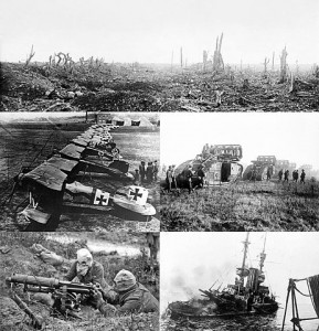 World War I montage