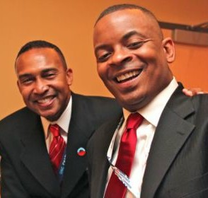 Patrick Cannon and Anthony Foxx