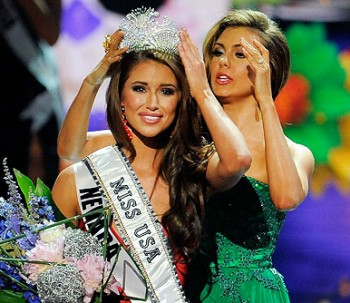Miss Nevada - now Miss USA - Nia Sanchez